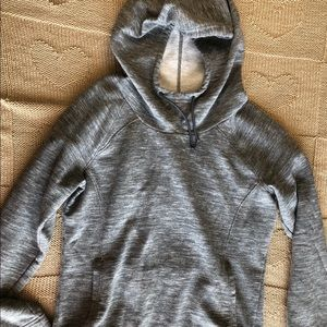 Under Armour Semi-Fitted Grey Cold Gear Hoodie
